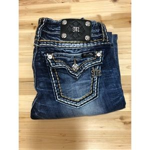 MISS ME jeans size 29x34 boot cut